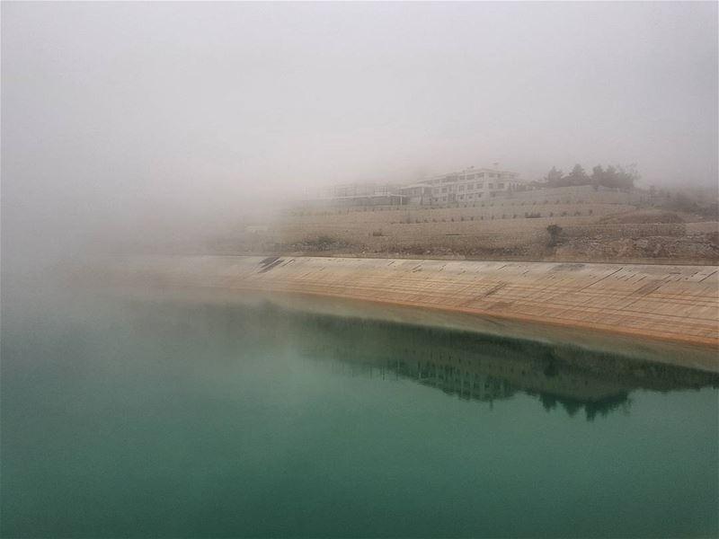 Foggy... (Mount Lebanon Governorate)