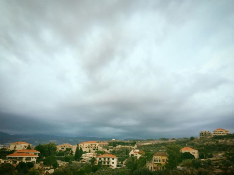 There are things you only learn in a storm.  lebanon  livelovelebanon ... (Amioûn, Liban-Nord, Lebanon)