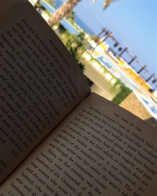 Reading, a vacation for the... (Pangea Beach Resort)