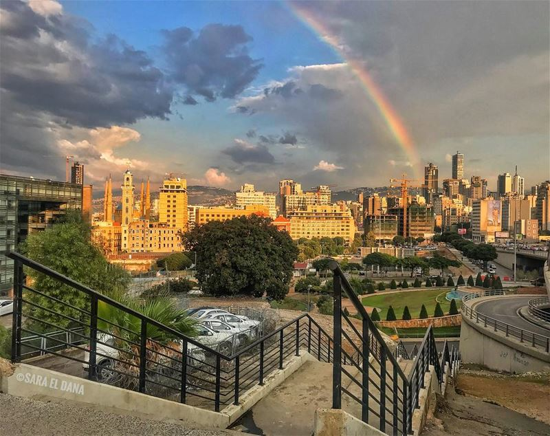 Somewhere over the rainbow! 🌈 (Grand Serail)