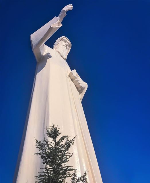 "He said to them :""Because of your little faith. For truly, I say to you,... (Saint Charbel-Faraya)"