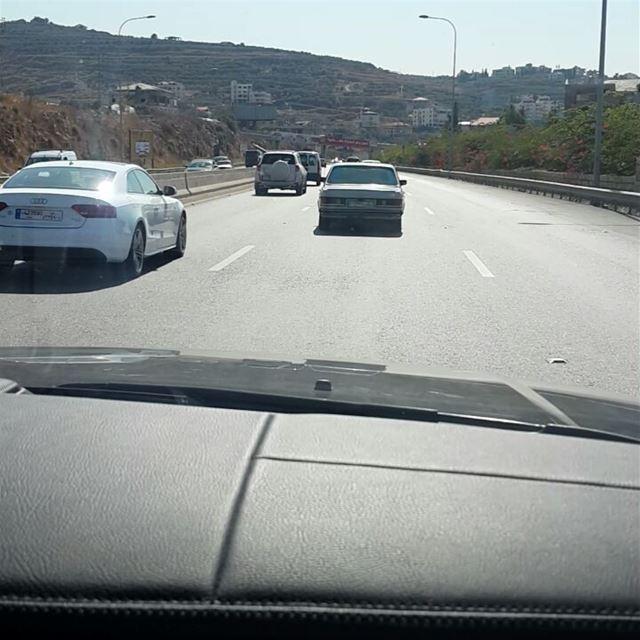 @CheveningTeam heading south to Phoenicia University campus Zahrani to...