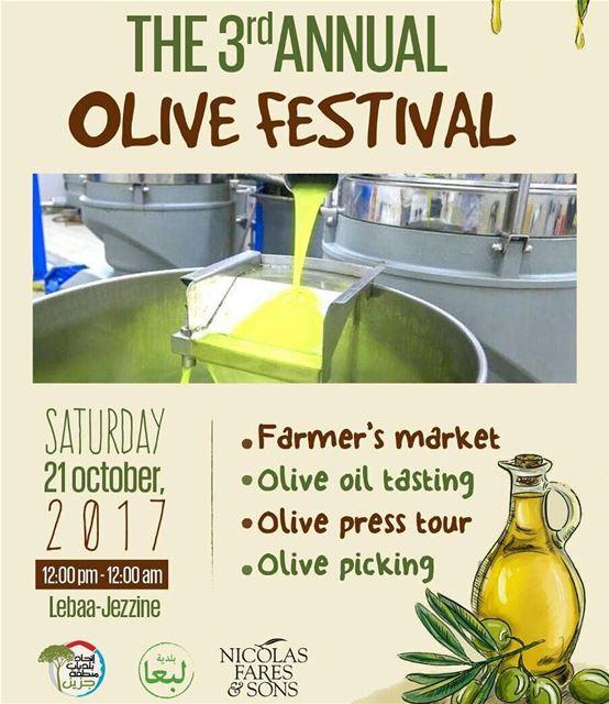 See you there! 🤗🍈 Olea OleaLeb jGrove ExtraVirgin OliveOil ...
