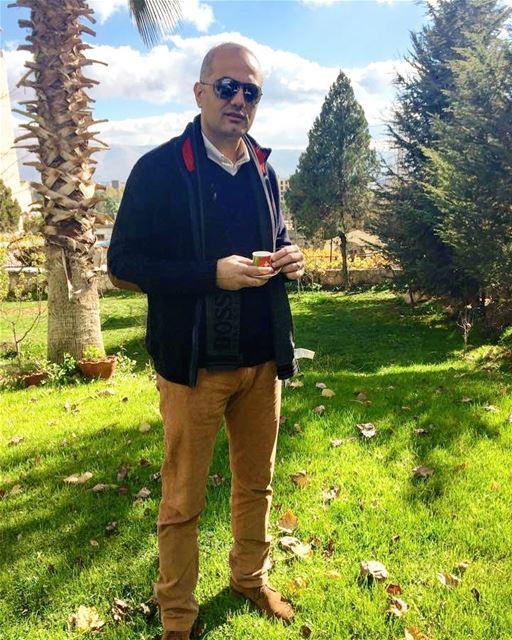 رجعت الشتوية. winter zahle zahleh lebanon morning coffee... (Zahlé, Lebanon)