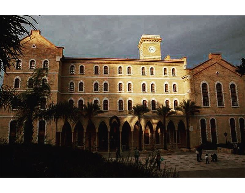 College Hall, American University Of Beirut.📍Beirut, Lebanon | 2013..━ (American University of Beirut (AUB))