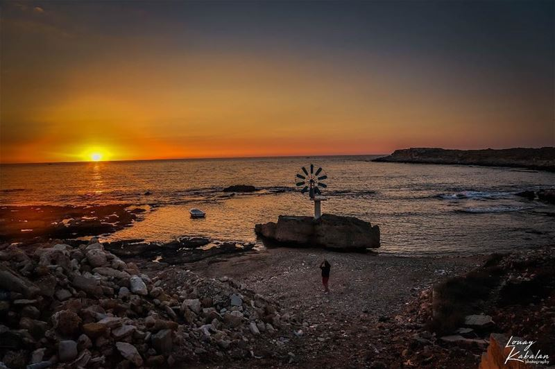 Spot peterwenmaken at @liveloveanfeh while the sun sets 🔥❤️ Credits 👑📸... (Anfeh Al-Koura أنفه الكورة)