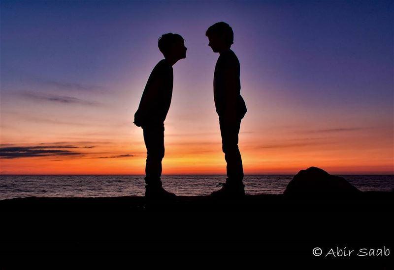 🇱🇧🇱🇧 LEBANON 🇱🇧🇱🇧 Lebanon byblos jbeil sunset kids ... (Byblos, Lebanon)