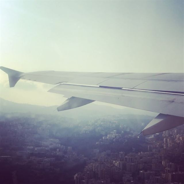Flying Above Beirut 🇱🇧. travel traveling travelphotography ... (Beirut–Rafic Hariri International Airport)