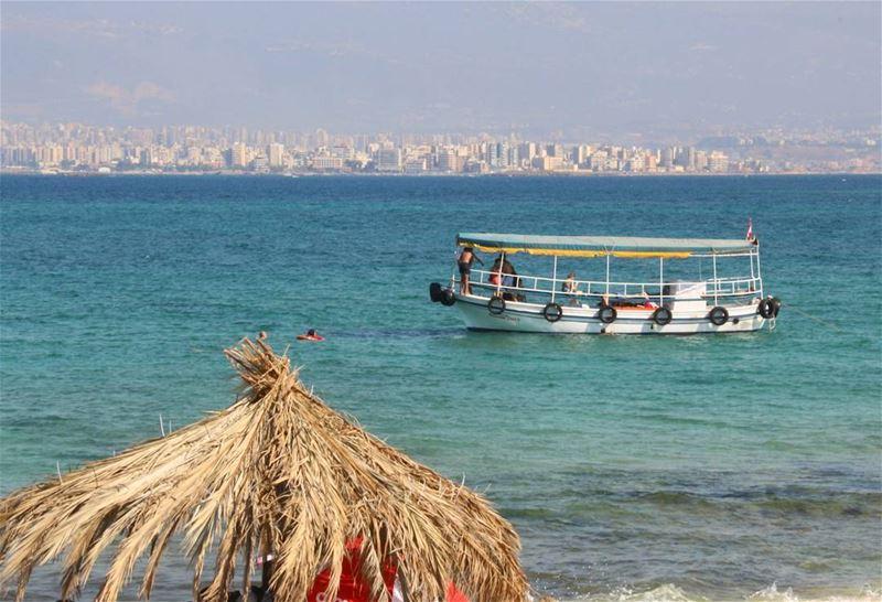 🏖 آخر ايام الصيفية ⛴ (Palm Islands- El Mina Lebanon)