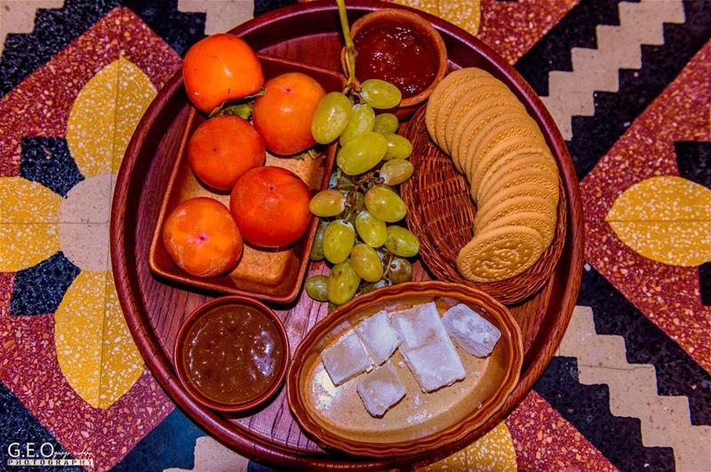 traditional dessert platter lebanesefood lebanesedesserts ...