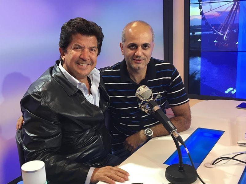 النجم العربي وليد توفيق.with the arab star Walid Toufic star interview... (Channel 4 Radio Network)