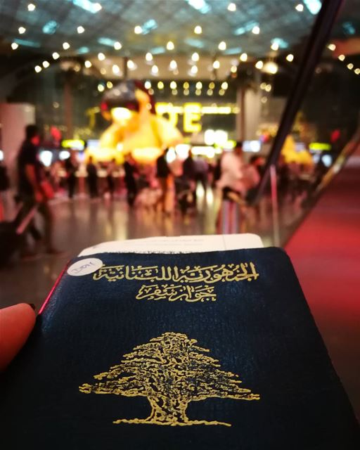 """Why do you go away? So that you can come back. So that you can see the... (Hamad International Airport)"