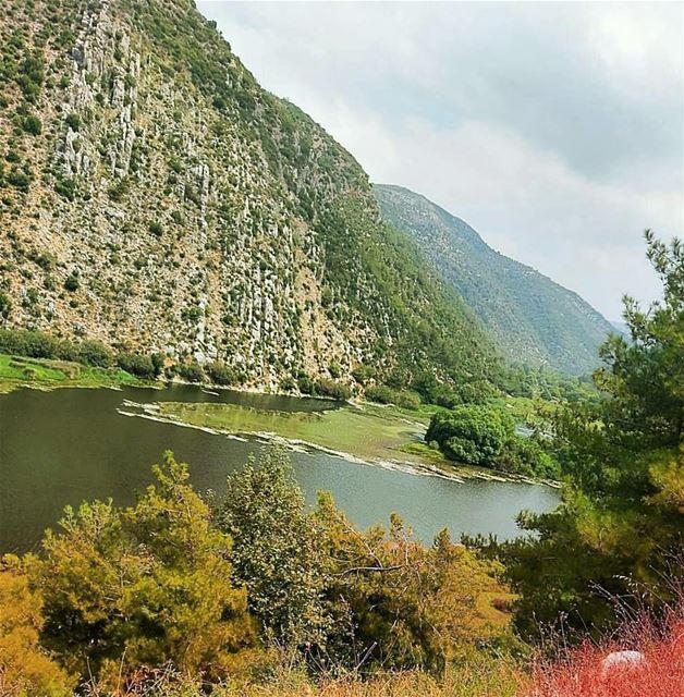 """""""Autumn...the year's last, loveliest smile.""""J.H. Bryant lebanon ... (3youn el Samak)"""