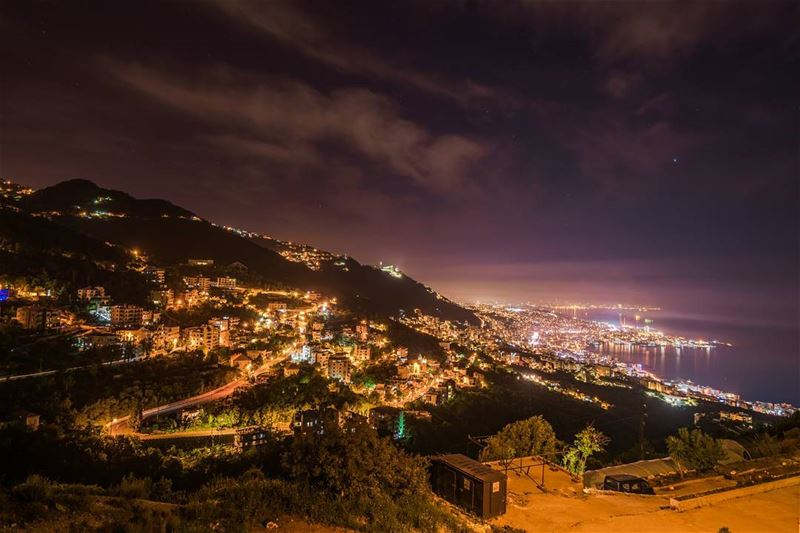 On of the best places to admire Beirut, Harissa and Jounieh at the same... (Lebanon)