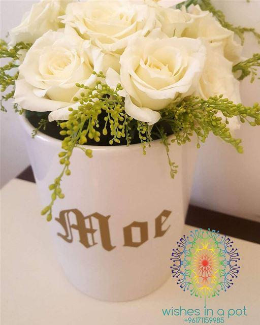 Ceramic customized flower pof71159985 fall2017 fall lebaneseflag 🇱🇧