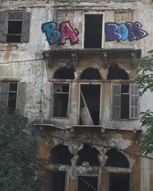 Beyrouth mon amour vestige war ruin ruinart tag art streetart ...