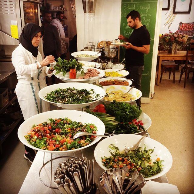 Late lunch 😋... lunch fooding livelovelebanon Travelgirl ... (Tawlet)