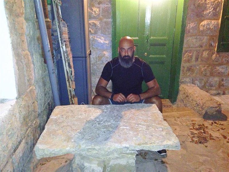 From one of the oldest houses in Hasbaya! hasbaya lebanon me oldhouse ... (حاصبيا)