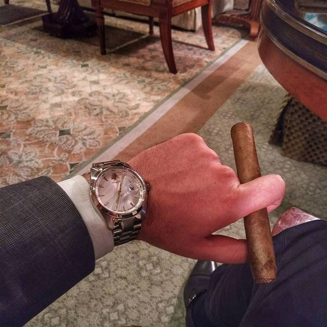 Let's rest! Have a great weekend LibanoCigar cigars cigarking ... (Four Seasons Hotel Doha)