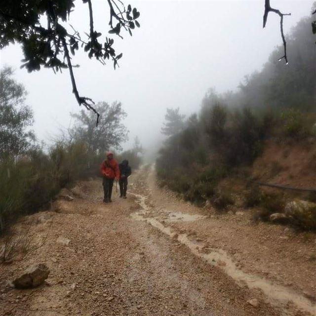 Rainy hikes tb saweke lebanon ...