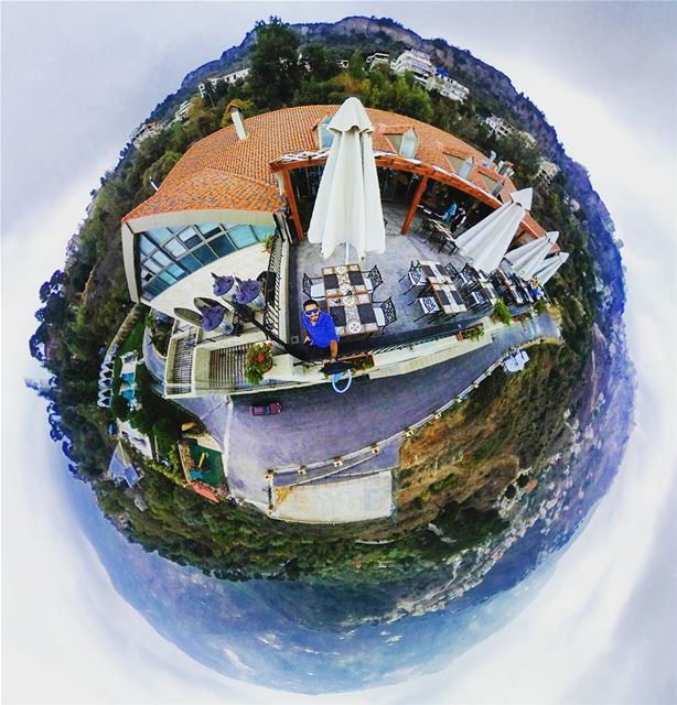 Hello tiny planet!------------------- 360  tiny  planet  tinyplanet ... (Cherry Blossom Boutique Hotel)