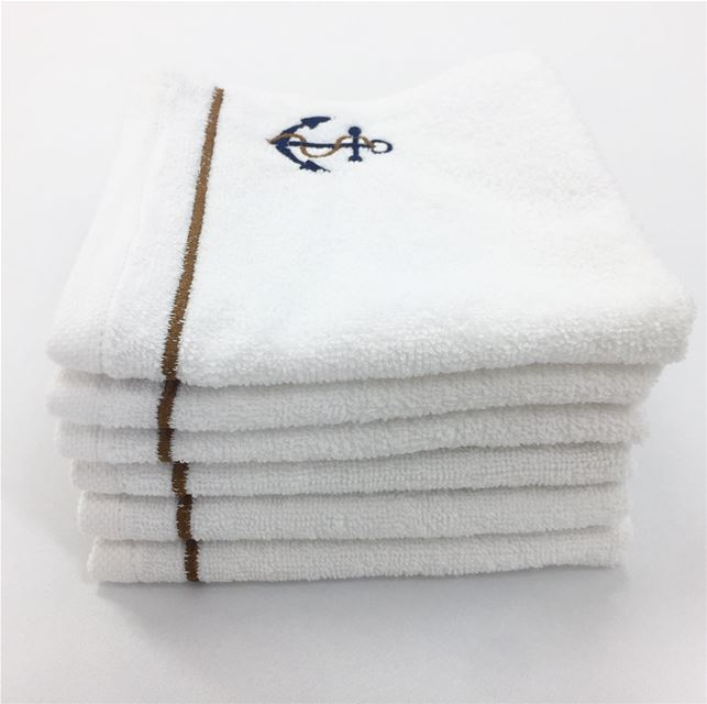 Luxury boat linen ⚓️ Write it on fabric by nid d'abeille boat yacht ...