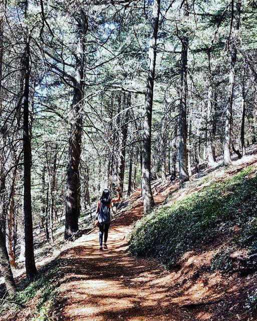 🌸Freedom...is being YOU without anyone's permission🌸 chouf hiking ... (Maasser Ech Chouf, Béqaa, Lebanon)
