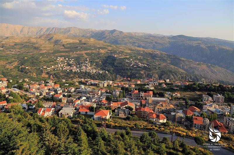 Ehden postcard .......... spiroalbatrouniphotography liveloveehden... (Ehden, Lebanon)
