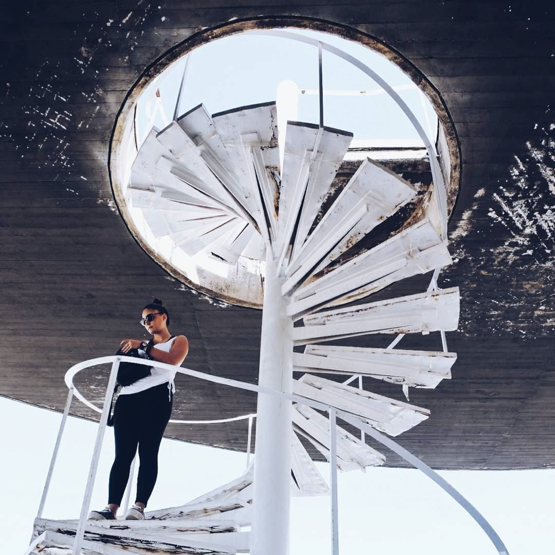 WorldNeedsMoreSpiralStaircases architecture archilovers ... (Rachid Karami International Fair)