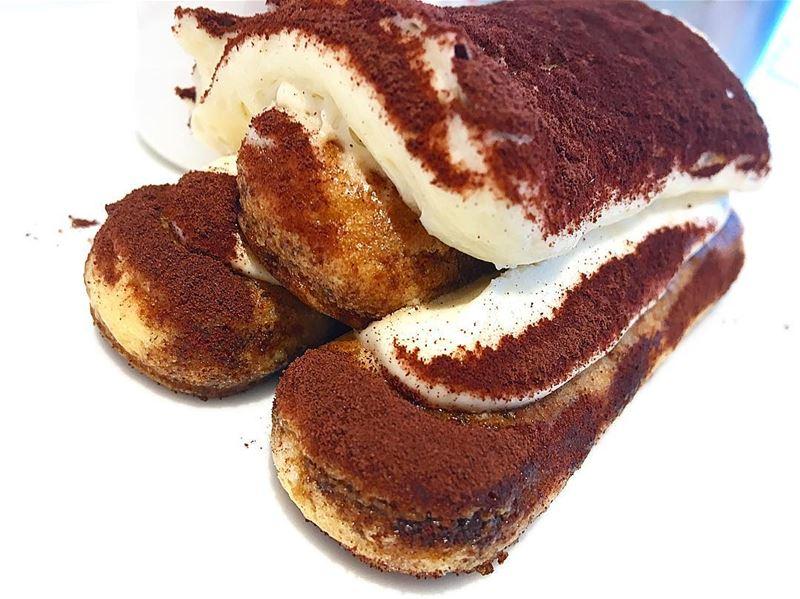 Tasty Tiramisu 🤤 dessert sweet italian yummy instaquotes quotes wisdom... (Beirut, Lebanon)