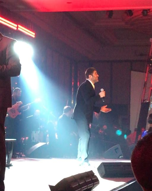 waelkfoury concert zahle dubai spotlightevents alrabia1078 alrabiafm song... (Dubai, United Arab Emirates)