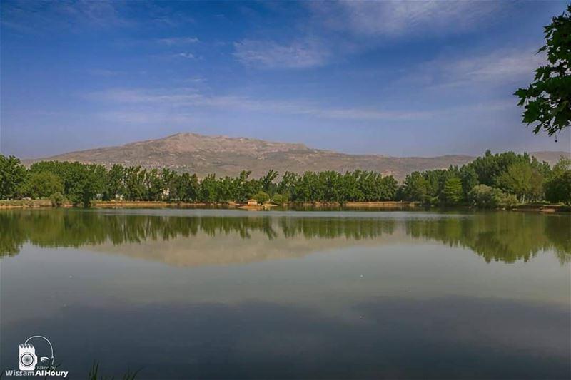 taanayel taanayellake laketaanayel lake zahle bekaa lebanon... (Taanayel- Bekaa)