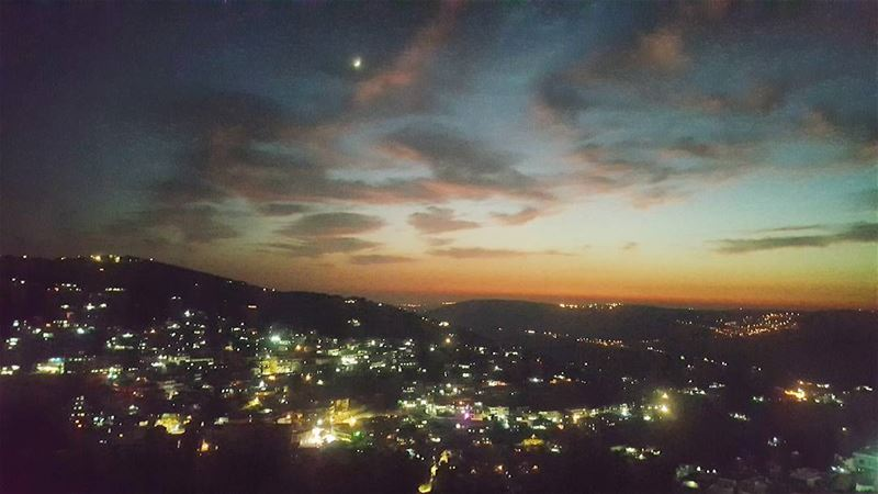 sunset sunsetview instamobile igsunset magicalview naturepics ... (Hasbaya)