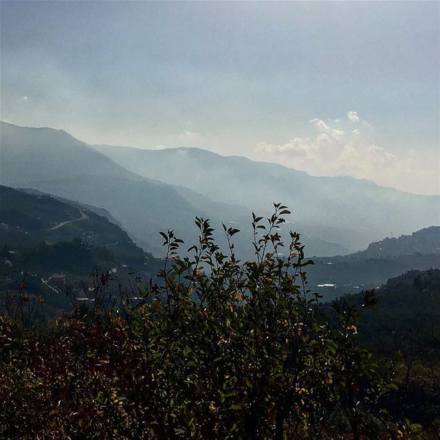 Escape from the city! lebanon lovesmountain exploretocreate ... (El Laqloûq, Mont-Liban, Lebanon)