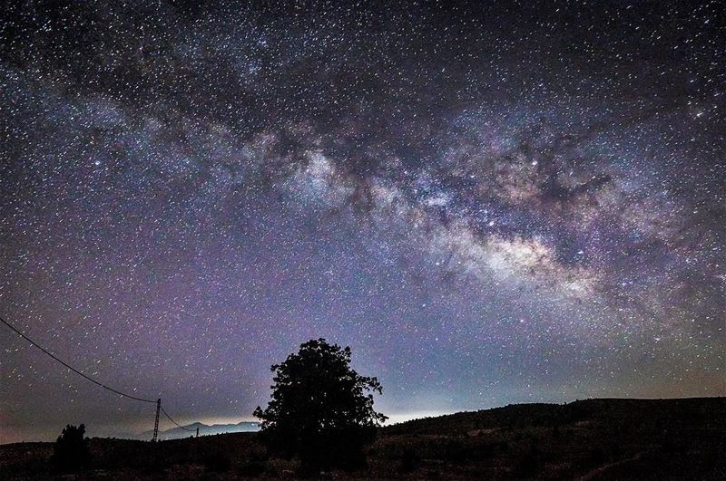 Why should I feel lonely? is not our planet in the Milky Way? ....... (لزّاب Eco Lodge- جرود الهرمل)