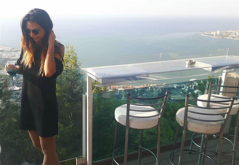 Sunny Sundays 🌞😎 AtTheTop HappySunday TheTerraceLebanon .📷@yaraabigh (The Terrace - Restaurant & Bar Lounge)