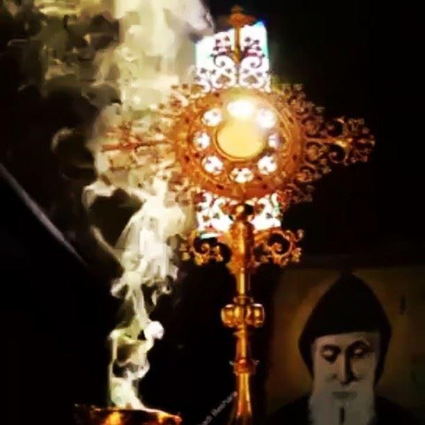 المجد لله ........ marcharbel lebanon saintcharbel faraya ...