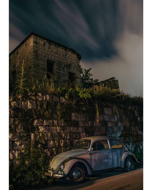 The People's Car🚗.... car cars beetle volkswagen german germany old... (Bikfaïya, Mont-Liban, Lebanon)