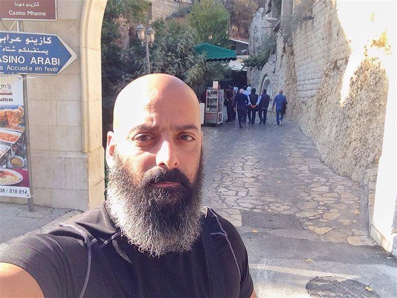 And we arrived to Zahlé now😌 me zahle lebanon massiratwatan walking ... (Zahle- Al Berdouni)