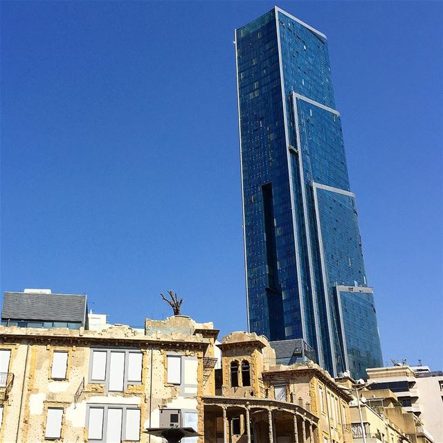 When old and new clash ! This is Beirut : unique , chaotic and... (Beit Beirut)