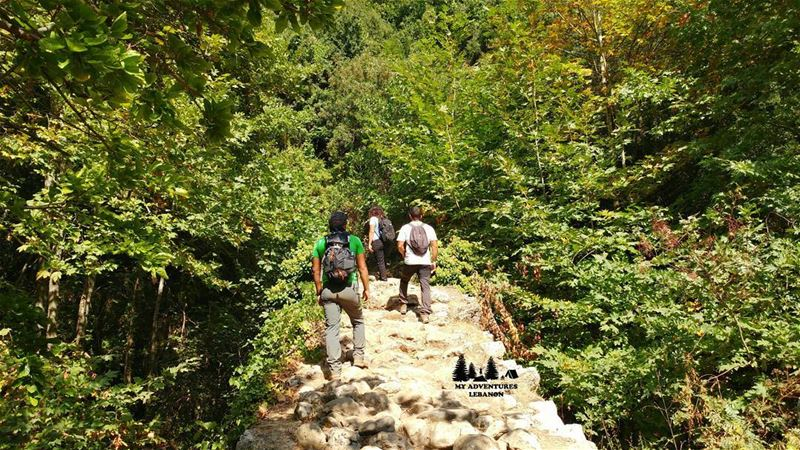 A great place for a hike with some friends🚶and we are hiking there this... (Wadi Qannubin, Liban-Nord, Lebanon)