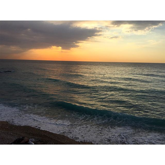 A Sea full of secrets 🌊🌅  sea  sunset  byblos  jbeil  amazingview ...