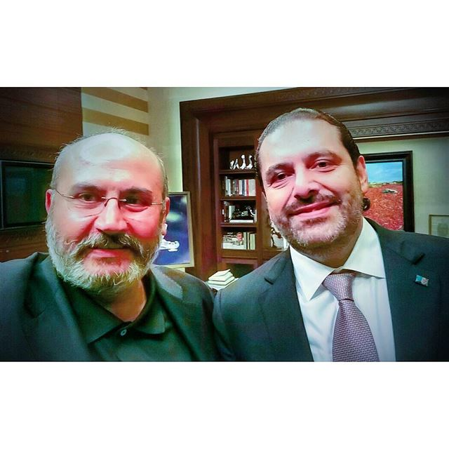 Meeting with the  leader & visionary @saadhariri leaves you smiling. ... (Downtown Beirut)
