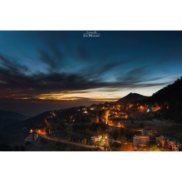 ehden sunset sky colors beautifullebanon livelovelebanon ig_lebanon...