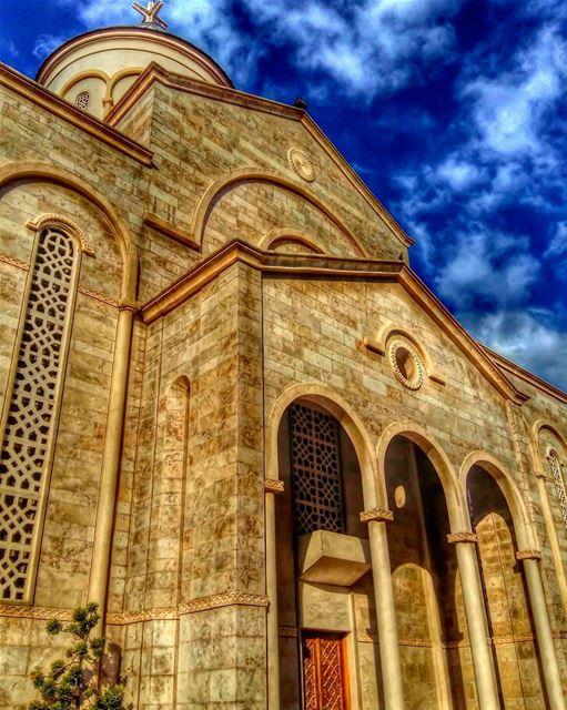 Cathedral St.Nishan ⛪••• lebanon beirut church photooftheday... (Beirut, Lebanon)