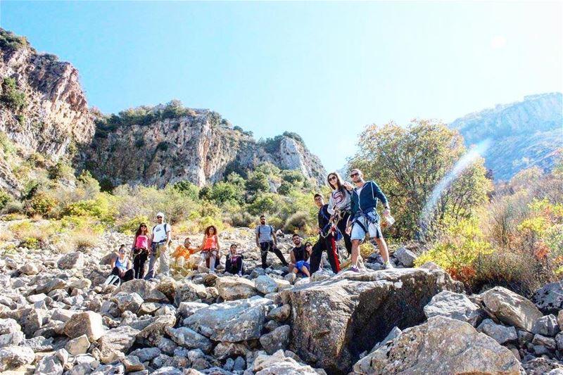 Life is better when we hike ⛰ autumnmood 🍁🍂 sanelebanon 🍃