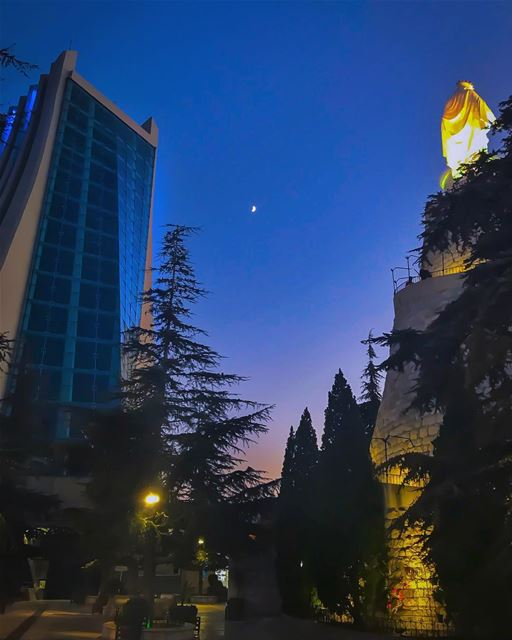 Love is the measure of Faith - Pope Francis ... (The Lady of Lebanon - Harissa)