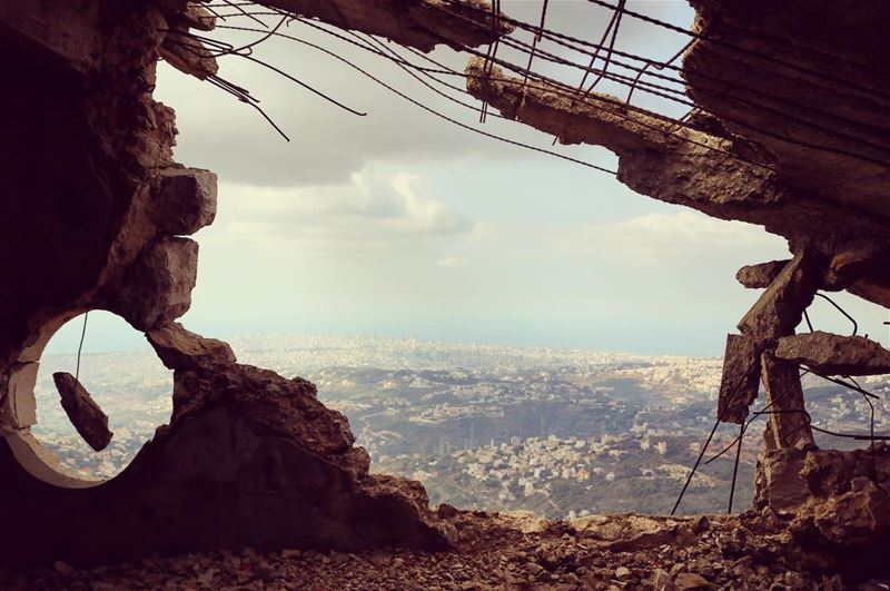 """From Aley to Beirut """"Abandoned"""" abandoned_lb abandoned_lb ... (Aley)"""