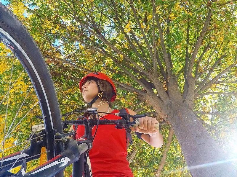 Autumn ride 🍁 • 🚲• 🚲• 🚲• 🚲 MyLifeAMoi Lebanon Bike ... (Broummâna, Mont-Liban, Lebanon)