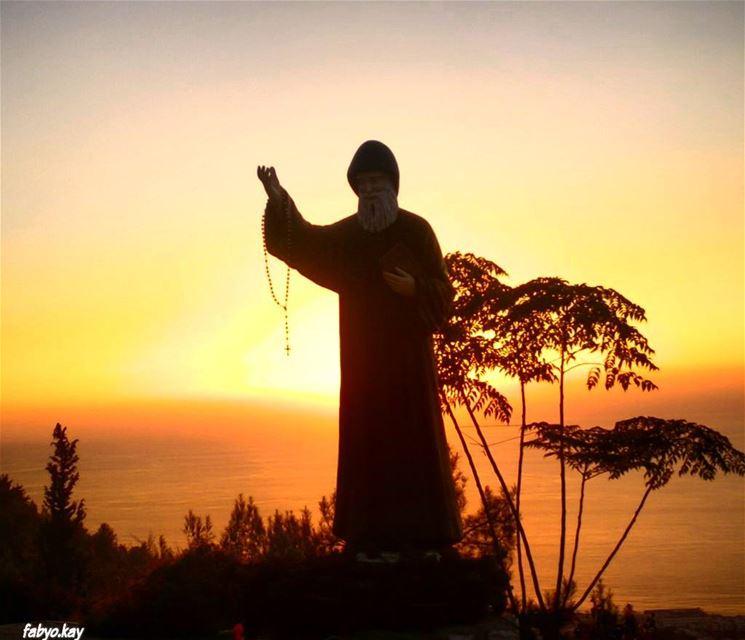 saint_charbel mar_charbel skylovers sunset sunsetlovers master_shots الص (Lebanon)